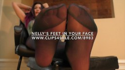 Nelly's Feet in Your Face - www.c4s.com/8983/17312650