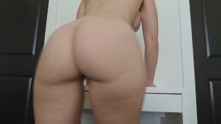 she really wants you to jerk to her ass Butt anal