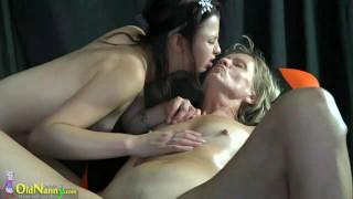 OldNannY Teen And Mature Massage and Masturbation