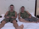 ActiveDuty Twinky Soldier Gives BB Anal to Army Hunk!