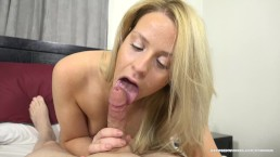 MILF Alanna Bentley Brags She Can Suck Mad Cock But Can She Really? 4K