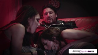 Jessica Jaymes Perfec threesome whit Jessica Chloe and Tommy Gun