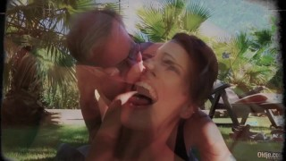 Old and Young Porn - Sweet innocent girlfriend gets fucked by grandpa Small home