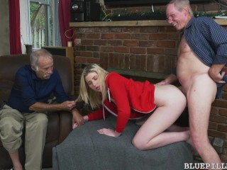 Gigi flamez and sally squirt blue pill men 4