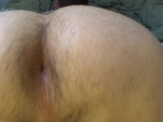 Hairy hole gaped from plug play