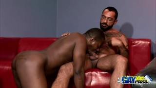 Interracial Blowjobs For Lance And Tom Off tattoos