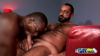 Interracial Blowjobs For Lance And Tom Play muscular