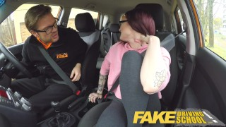 Preview 2 of Fake Driving School 19yr old petite American student creampie lesson
