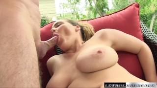 Natasha comes back to get her huge tits fucked porno