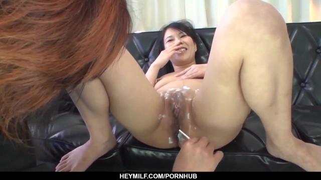 Sexy xxx Japanese scenes with naked Saya Fujimoto 11
