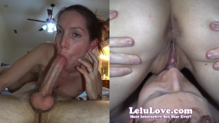 Lelu Love-Cunnilingus Blowjob 69 Pussy Eating Cumshot