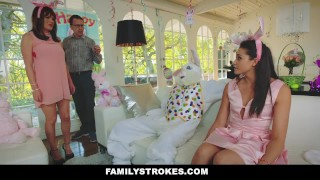 Hot by familystrokes fucked bunny step teen easter uncle love step