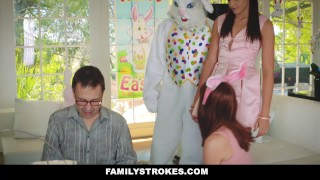 Fucked by familystrokes step uncle hot bunny easter teen avi bigcock