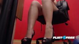 Fetish Mistress High Heel and Feet Tease