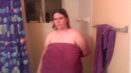 My stepbrother caught me coming out of the shower