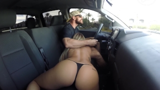 Fucking in Public Drive Threw Car Wash Rhodes jessa