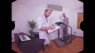 VirtualRealGay.com - Doctor's Day Fingering eating