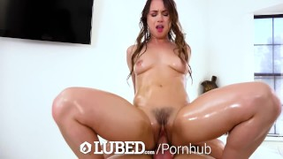 LUBED Soapy bubble cutie Taylor Sands fucked and creampied
