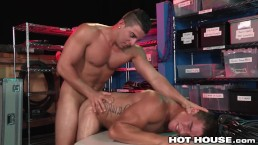 HotHouse Backstage Buttfucking Hunks