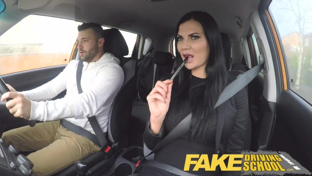 Nakd sex - Fake driving school jasmine jae fully naked sex in a car