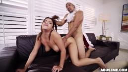 Mia Martinez Receives Christmas Punishment (am15733)
