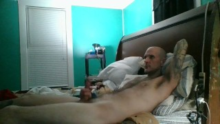Home alone with my big cock