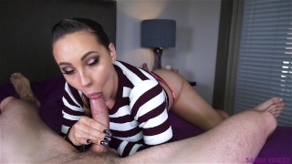 Of yum mouth full cum oral blowjob