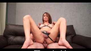 Ladyboy latina drill anal hard fuck ass