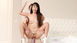 Super asian babe hase stuffed marica soaker facial baeb pussy with tits asian