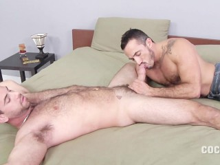 Hung Stud Girth Brooks Fucks Alessio Romero