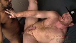 Blatino Breeds Beefy Gingerin his Sweaty Hole