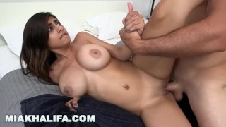 Big hard mk mia shower in tits khalifa and fucked gets off shows cock mk13783