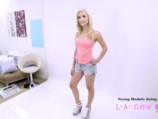 Teen gets fucked audition by...