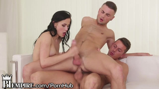 BiEmpire 2 Guys and a Girl Play Together