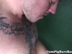 Inked cub breeding handsome jock until cum