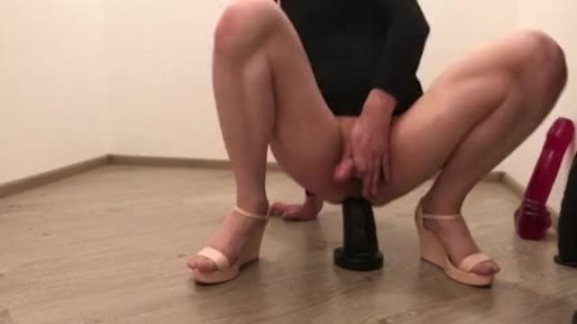 Big anal dildo shemale 12