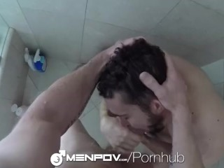 MenPOV Boyfriend Colt Rivers welcome home fuck with Tony Shore