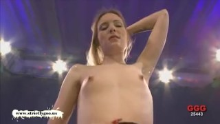 Kitty is happy when big dicks are involved - German Goo Girls Fuck blowjob