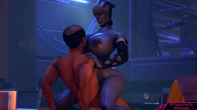 Mass effect video game tits - Liara a proposal reunion mass effect