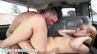 Ass bangbros fucked kendall her gets big kross sexy on bangbus siren booty drilled