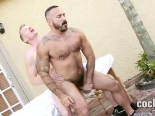 Latino Stud Alessio Romero Barebacks Jay Conrad