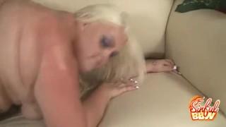 BBW Cheryl Lee Doggystyle Fucked Bukkake butt