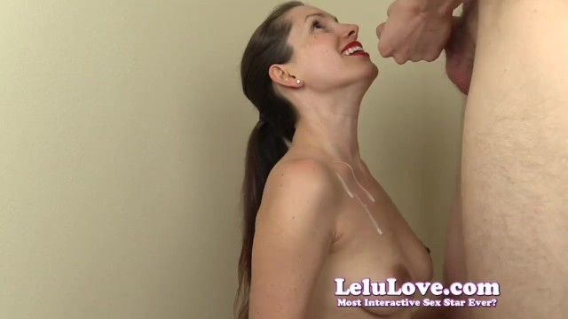 Lelu Love-Virtual Bukkake Fantasy 5 Cumshots 12