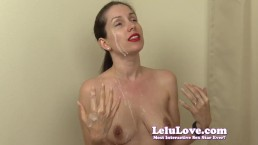 Lelu Love-Virtual Bukkake Fantasy 5 Cumshots