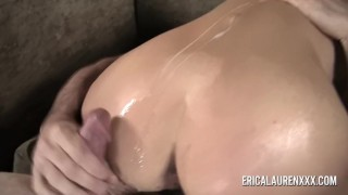 GFE Hot Blonde MILF and Young Stud Cumshot style