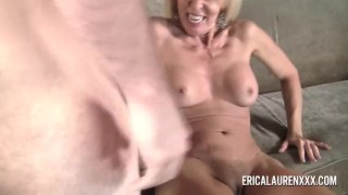GFE Hot Blonde MILF and Young Stud Dildo teacher