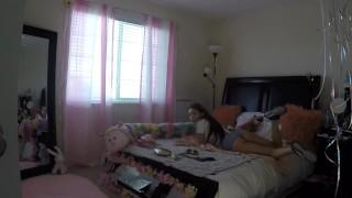 Sami Parker Caught On Hidden Camera By Her Stepbrother