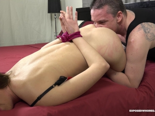 BF Ties Up His Girlfriend Katie Star Fucks Her & Cums All Over Her Face! 4K