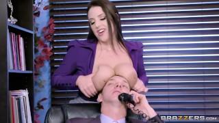 Angela the horny Office Slut - Brazzers