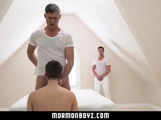MormonBoyz-Secret temple sex ritual caught on tape